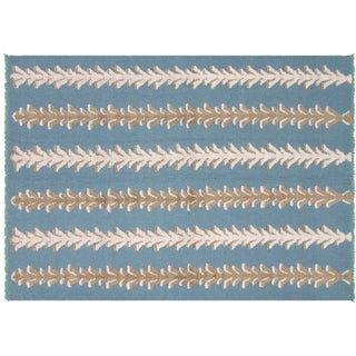 "Turkish Flatweave Rug - 5'6"" X 7'9"""