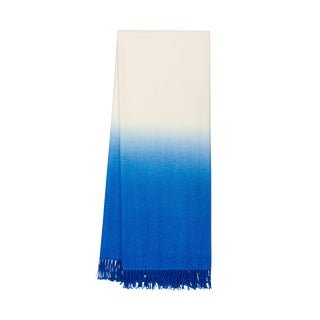 100% Baby Alpaca Dip-Dyed Throw For Sale