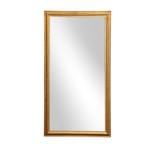 Gold Louis XVI Gilded Mirror For Sale - Image 8 of 8