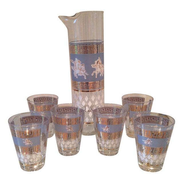 Mid-Century Greek Cocktail Glasses - Set of 6 - Image 1 of 6