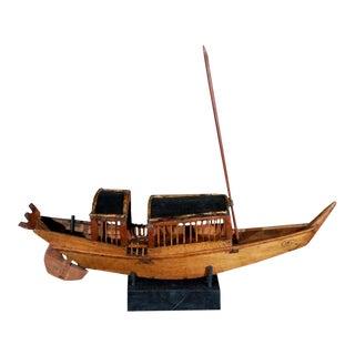 Belgian Wooden Boat For Sale