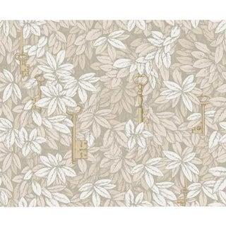 Cole & Son Chiavi Segrete Wallpaper Roll - Parchment For Sale