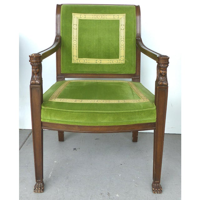 Modern Cocheo Bros, Fine Quality Chairs - A Pair For Sale - Image 3 of 11