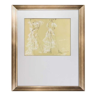 """Salvador Dali Limited Edition Lithograph No. 250 *Sign """"Gala"""", Framed For Sale"""