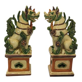 Italian Guardian/Foo Dogs - a Pair For Sale