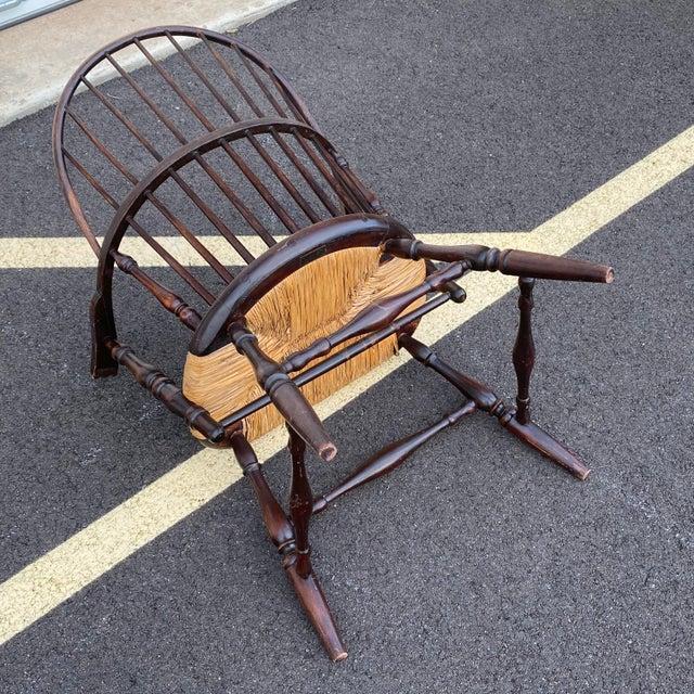 Antique Sack Back Windsor Chair For Sale - Image 11 of 13