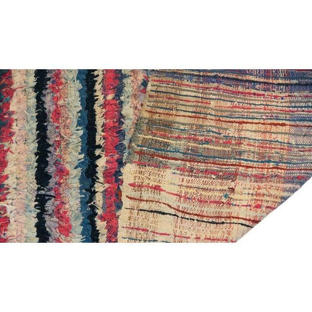 """Vintage Boucherouite Carpet - 6'6"""" X 3'2"""" - Image 3 of 3"""