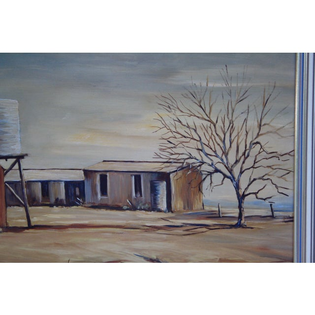 May Jones Australian Oil Painting For Sale In Dallas - Image 6 of 11