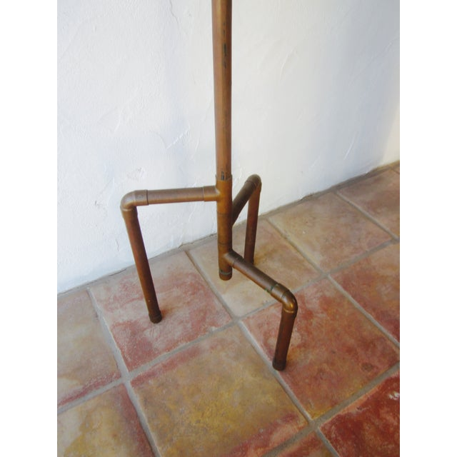 Modernist Copper Coat Rack Hat Tree - Image 5 of 11