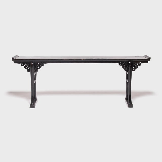 Excellent Chinese Black Lacquer Eight Dragon Table Pdpeps Interior Chair Design Pdpepsorg