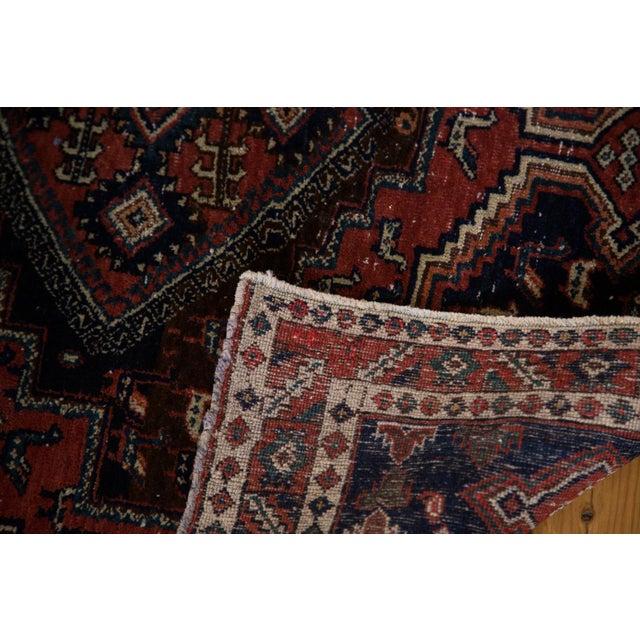 "Vintage Persian Afshar Rug - 3'6"" X 4'8"" - Image 6 of 8"