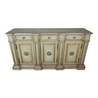 Italian Painted Neoclassical Style Painted and Credenza For Sale