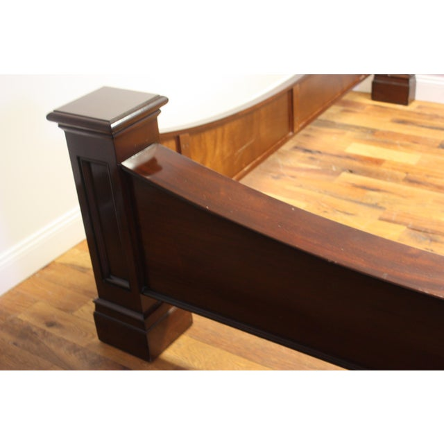 King Bed Frame by M. Craig For Sale - Image 9 of 13