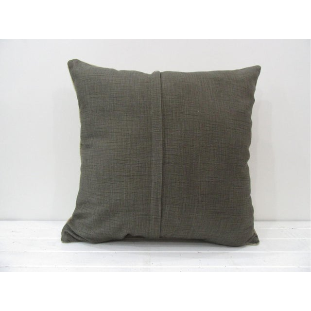 Islamic Vintage Turkish Kilim Pillow Cover For Sale - Image 3 of 4