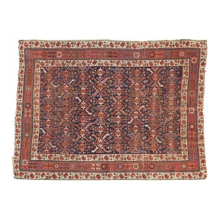 """Antique Afshar Rug - 3'10"""" x 5'4"""" For Sale"""