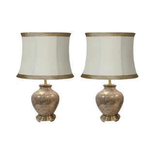 Frederick Cooper Chinoiserie Ginger Jar Lamps-A Pair