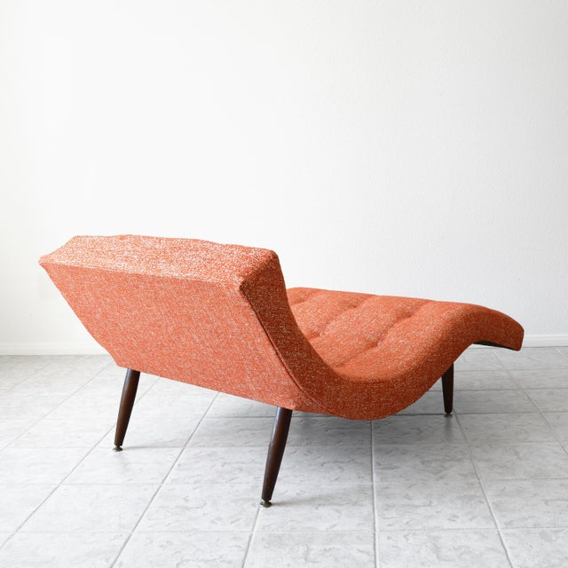 "Here we bring you the classic and iconic ""Wave"" or ""S"" Shaped Chaise Lounge attributed to famed designer Adrian Pearsall...."