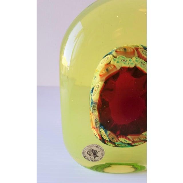 Glass 1950s Galliano Ferro Murano Glass Pin Wheel Bookends for Fornasa De Mvran a l'Insegna Moreto - a Pair For Sale - Image 7 of 8