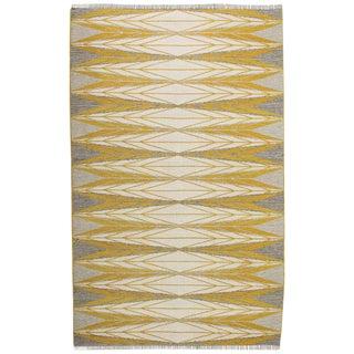 """Vintage Ingrid Dessau """"Sylarna"""" Flat-Weave Swedish Carpet For Sale"""