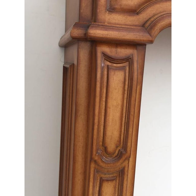 Carved Architectural Fireplace Mantel - Image 5 of 7