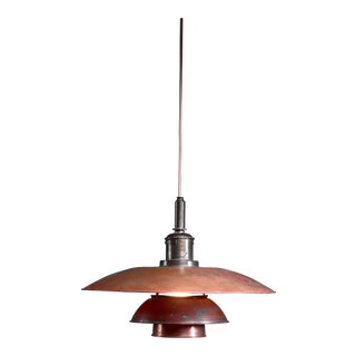 Poul Henningsen Copper Pendant, Denmark, 1920s For Sale