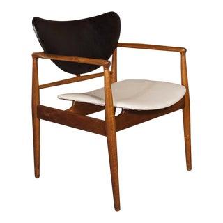 1950s Vintage Finn Juhl for Baker 400 1/2 Chair For Sale