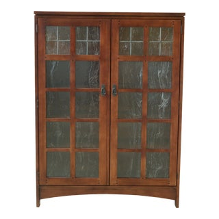 Drexel Mission Style Arts & Crafts Bookcase For Sale