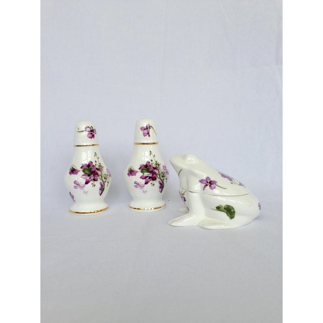 Salt & Pepper Shakers With Sugar Box - Set of 3 - Image 4 of 9