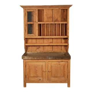 French Pine Cabinet For Sale