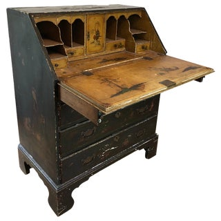 18th Century George III Chinoiserie Desk For Sale