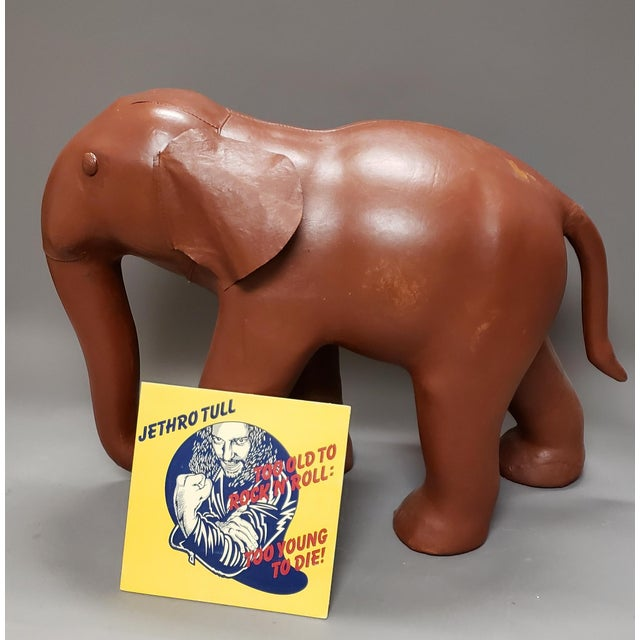 An absolutely awesome large and rather sturdy leather elephant. A great stand alone piece that would work just about...