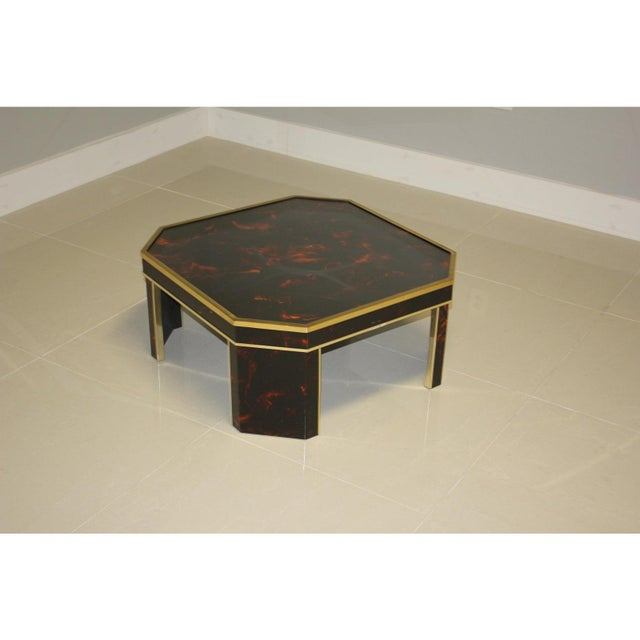 1970s French Mid-Century Modern Coffee Table by ''Sign Jean Claude Mahey '' For Sale - Image 10 of 13