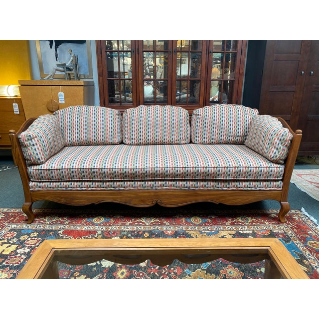 Thomasville French Country Reproduction Sofa /Daybed For Sale - Image 12 of 12