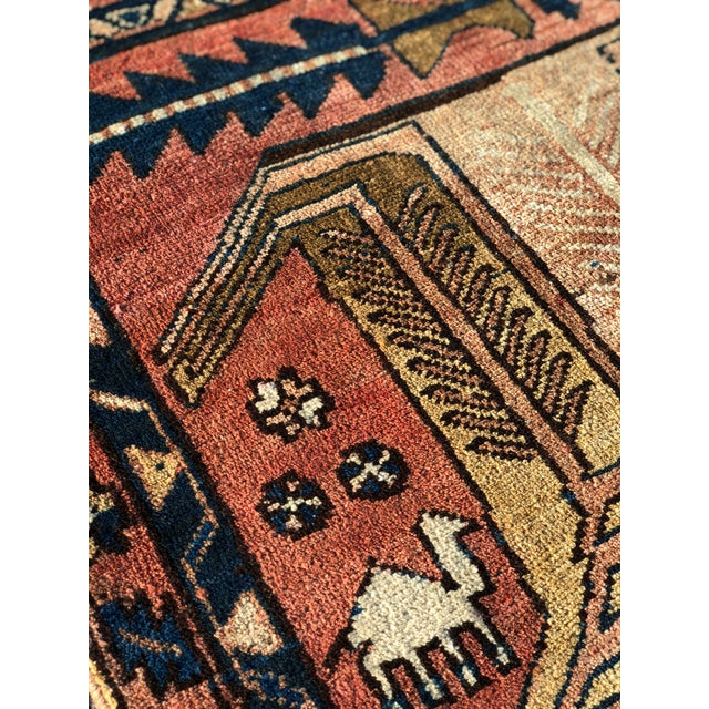 Textile 1950s Vintage Persian Sarab Runner Rug - 3′1″ × 10′2″ For Sale - Image 7 of 13