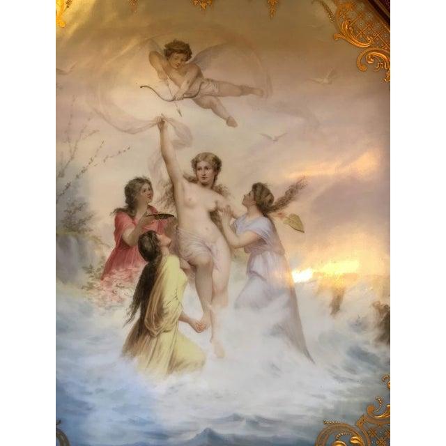 "Neoclassical ""Triumph der Venus"" Royal Vienna Platter For Sale - Image 3 of 7"