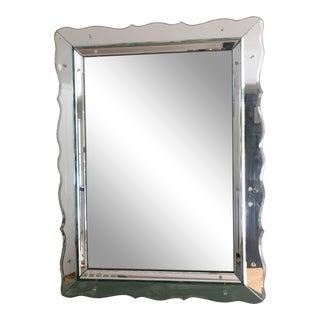 Mid-Century Beveled Venetian Mirror For Sale