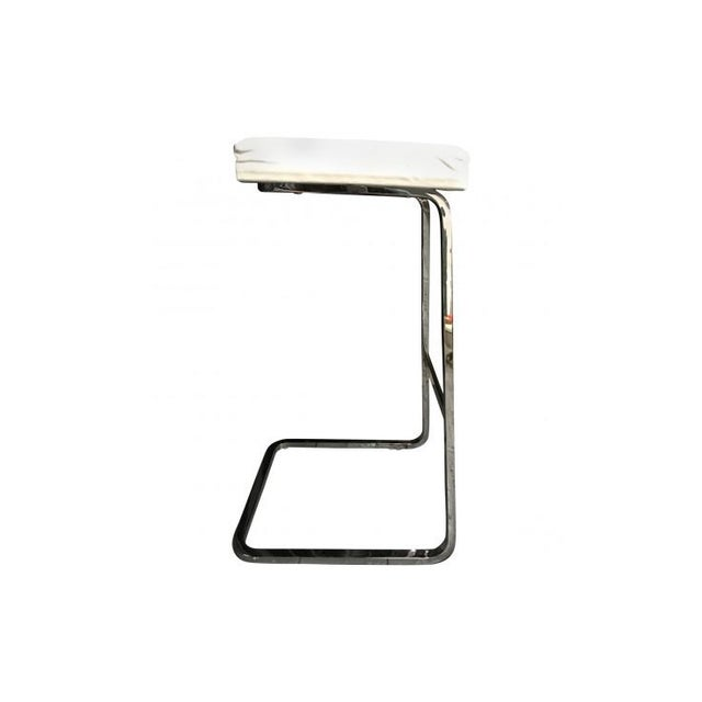 Mies Van Der Rohe: Four Seasons Stool - A Pair - Image 3 of 7