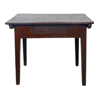 Rustic Northern European Work Table, 19th Century For Sale
