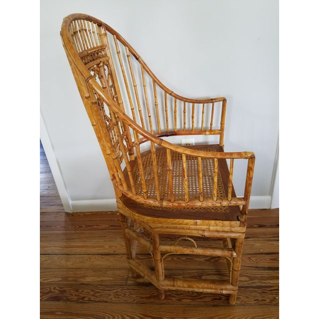 Thomasville Thomasville Bamboo Chinoiserie Armchair For Sale - Image 4 of 6