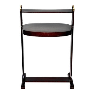 English Arts & Crafts Dark Stained Palisander Stand or Side Table For Sale