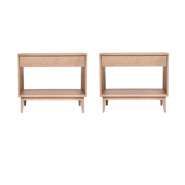 Pair of Baptiste Nightstands For Sale - Image 4 of 4