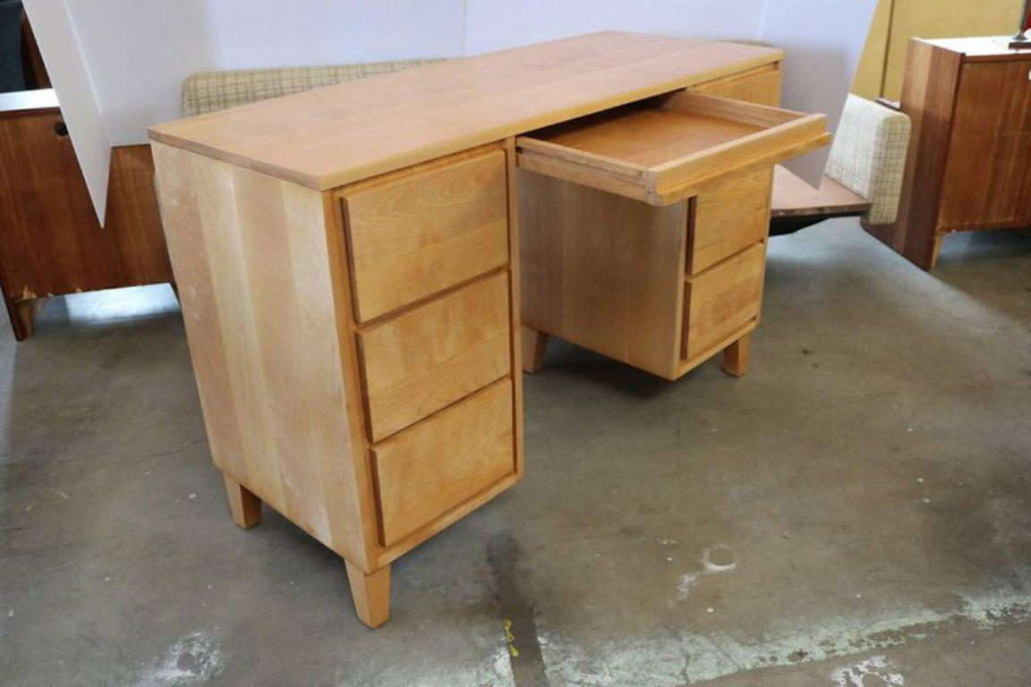 Russel Wright For Conant Ball Desk And Bookshelf Set   Image 5 Of 11