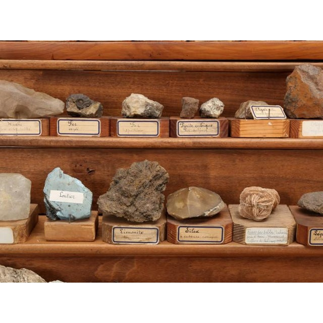 1891 French School Mineral Specimen Collection - 200 Pc. Set For Sale - Image 12 of 13