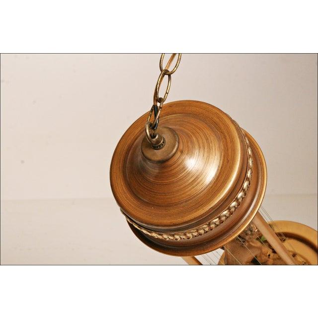 Vintage Mineral Oil Hanging Lamp - Image 6 of 11