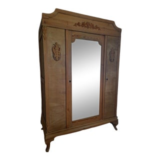 Antique English Knock Down Armoire For Sale