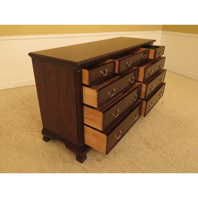 2010s Henkel Harris Mahogany Dresser For Sale - Image 5 of 13
