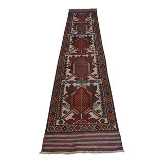 Vintage Handmade Tribal Runner - 2′7″ × 11′8″