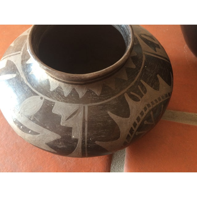 Black Indian Pottery - Set of 3 - Image 11 of 11