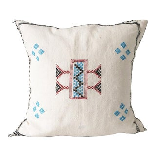 White Sabra Pillow For Sale
