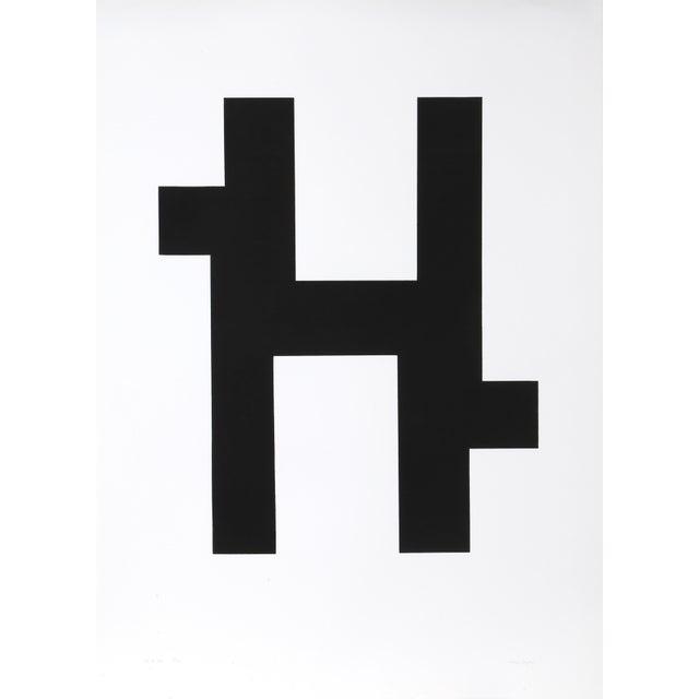 Abstract Nassos Daphnis - Ss 2-78 Silkscreen For Sale - Image 3 of 3
